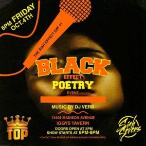 Black Effect Poetry